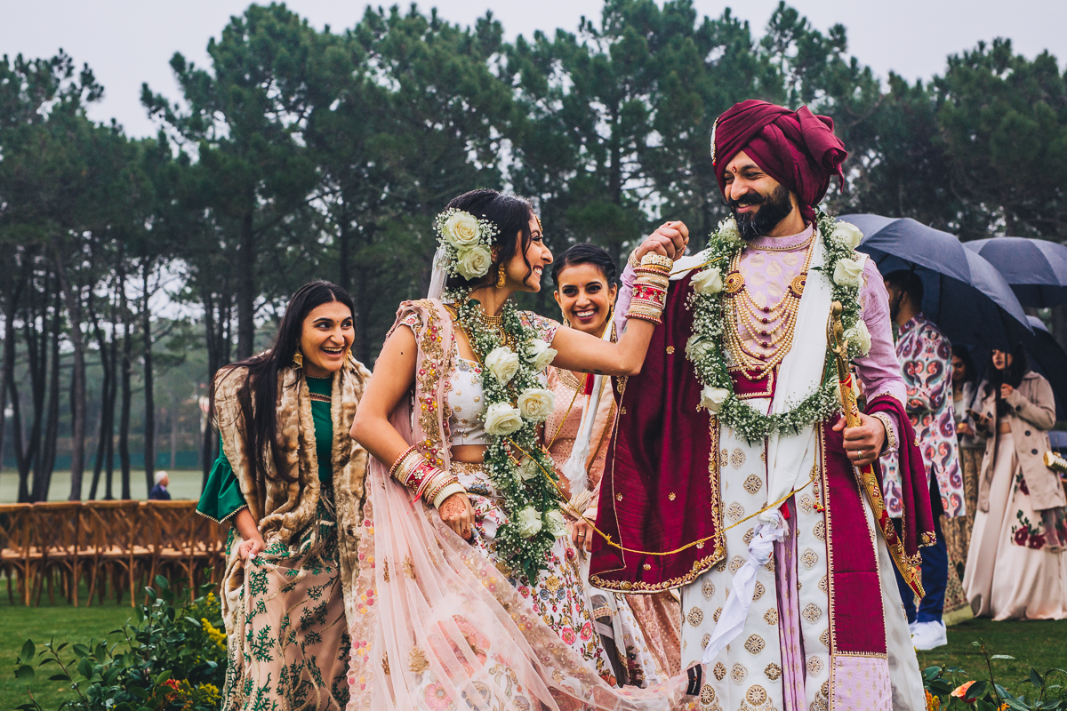 Casamento Indiano de inverno
