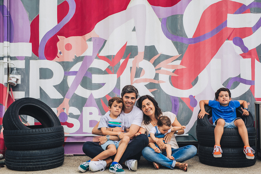 Family Photo Session in Lisbon