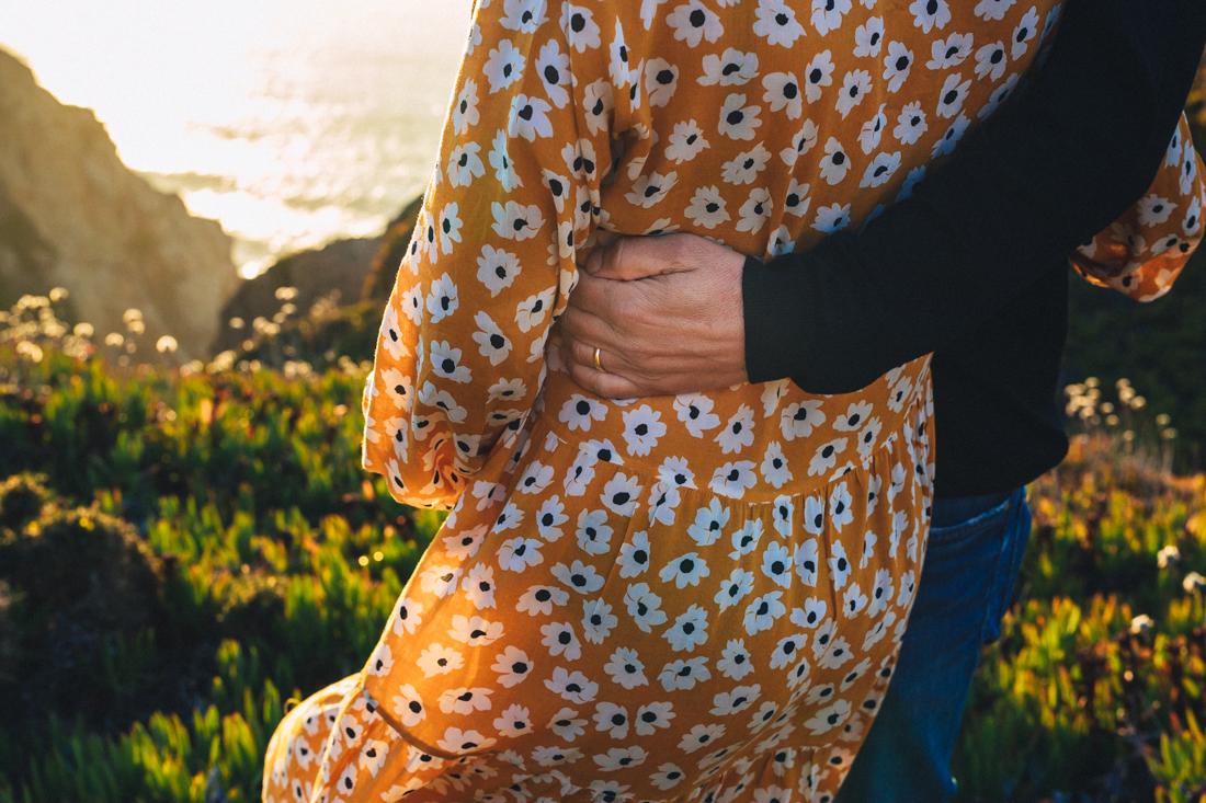Pregnancy Photo Shoot in Portugal
